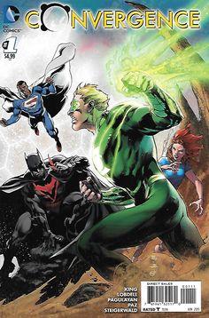 Convergence #1 DC Comics