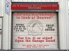 Big Beaver Brewing Company Loveland Colorado - Are you old enough to look at Beaver? LOL