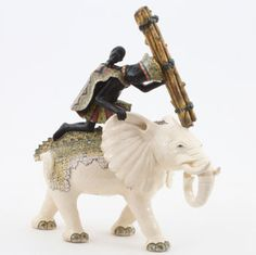 Ardmore Ceramics:  Elephant Rider AAA