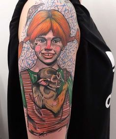 Schwein Elschwino pippi tattoo