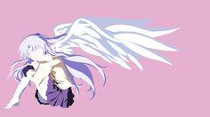 Tachibana Kanade (Angel Beats) Minimalist by IcyRO-kun on DeviantArt