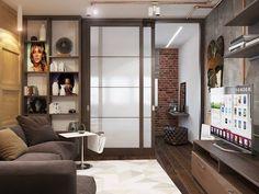 Резултат со слика за 1 комнатная квартира 33 кв дизайн проект