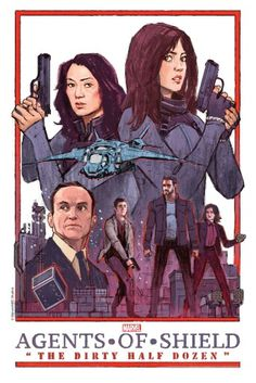 Based on this art for next week's Agents of SHIELD, it looks like Simmons is gonna kill Ward with a giant electric hand buzzer.