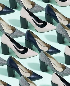 art direction | shoes pattern - fashion still life photography