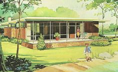 Vintage Summer Cottages