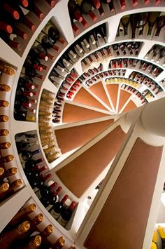 Witte wijnkelder