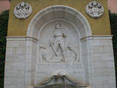 1930s Swiss Guard Monument in Vatican