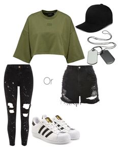 """""""Untitled #28"""" by adidasfan on Polyvore featuring River Island, Topshop, adidas Originals and Boohoo"""