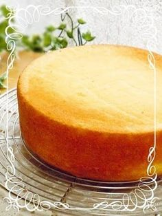 Moist and Fluffy Sponge Cake (Genoise Sponge Cake)