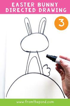 Easter Activities, Spring Activities, Art Activities, Easter Art, Easter Crafts, Easter Bunny, Kid Painting, Easter Scavenger Hunt, Easter Drawings