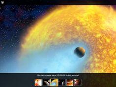 Maailmankaikkeutta tutkimaan Hubble-teleskoopin linssin läpi iPad-tabletissa | Klaava