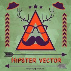 Hipster style – Free vetores ~ De volta ao retrô
