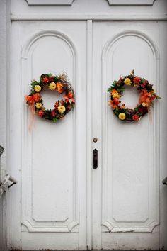 autumn wreathes