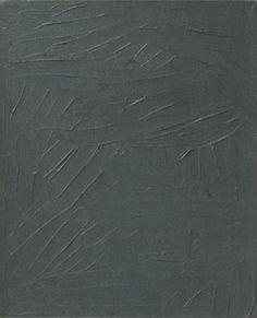 Gerhard Richter: Grau/Grey, 1967. 34 cm x 28 cm. Oil on canvas. Catalogue Raisonné: Nr.194-15.