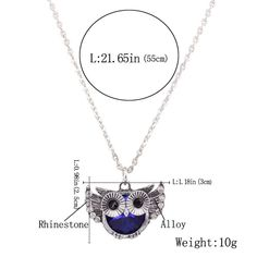 Owl Jewelry for Women Fashion Necklace