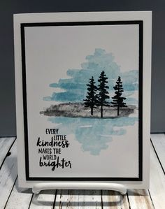 Waterfront by Stampin Up (Stamping With Tamie) Masculine Birthday Cards, Masculine Cards, Watercolor Cards, Watercolour, Up Book, Stamping Up Cards, Get Well Cards, Mothers Day Cards, Sympathy Cards
