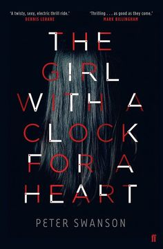 The Girl with a Clock for a Heart cover design by Mark Swan (Faber & Faber)