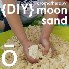 DIY doTERRA Essentials Oils Aromatherapy Moon Sand Recipe