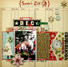 New Year's Resolutions - October Afternoon - Scrapbook.com