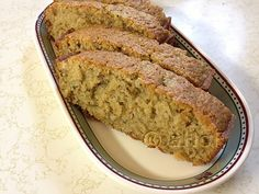 Zucchini Tea Bread. With or without the addition of Matcha Green Tea Powder, this zucchini bread is absolutely spectacular. The addition of the lemon oil, or just using the zest of a whole lemon makes the bread a delight.