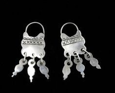 Tribal Jewelry, Chile, Tin, Ethnic, Jewelry Accessories, Hoop Earrings, Jewellery, Personalized Items, Christmas Ornaments