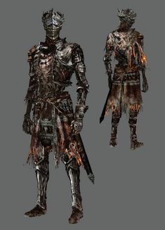View an image titled 'Firelink Armor Set Art' in our Dark Souls III art gallery featuring official character designs, concept art, and promo pictures. Dark Souls Armor Sets, Dark Souls 3, Fantasy Armor, Dark Fantasy Art, Medieval Fantasy, Armor Concept, Concept Art, Dark Souls Characters, Dark Souls Artorias