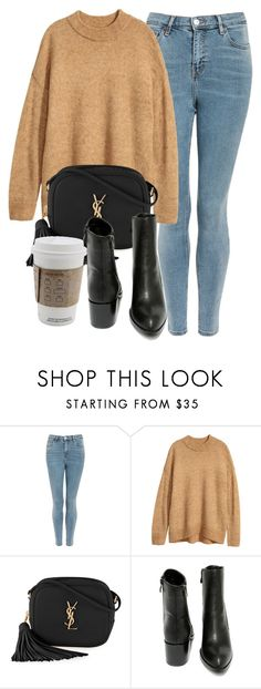 """Untitled #7072"" by laurenmboot ❤ liked on Polyvore featuring Topshop, H&M, Yves Saint Laurent and Very Volatile"