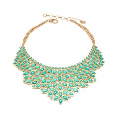 Amrita Singh Southampton Necklace (470 RON) ❤ liked on Polyvore featuring jewelry, necklaces, accessories, gold tone jewelry, bib necklace, adjustable necklace, amrita singh and amrita singh necklace