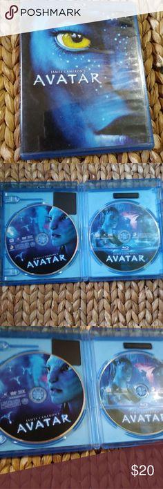 Avatar Blu-ray Movie by James Cameron Avatar Movie Blu-ray Movie & Other Stories Accessories