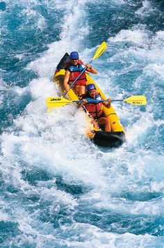 Rafting just for two Powers Of 2, Away We Go, Whitewater Rafting, Kayaking, Canoeing, Natural Energy, Paddle Boarding, Water Sports, Birds In Flight