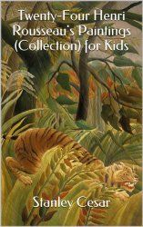 Henri Rousseau for Kids: Rousseau Jungle Scenes - Harrington Harmonies Art History Timeline, Art History Lessons, Art Lessons For Kids, Art Lessons Elementary, Henri Rousseau, Jungle Drawing, Jungle Scene, Art Curriculum, Art Lesson Plans