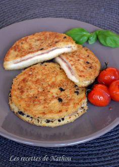 Les recettes de Nathou: Pain perdu à la tapenade, mozzarella et jambon de Parme