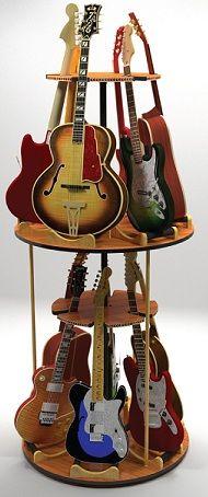 multiple guitar stands on pinterest guitar stand guitar storage and guitar display. Black Bedroom Furniture Sets. Home Design Ideas