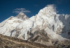 It was the unforgettable view of Mount Everest picture along the way to Nepal Himalayas Hiking and trekking trip.