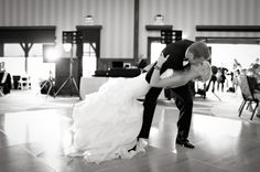 dip kiss on the dance floor | photo by http://www.brittanyjanellephotography.com