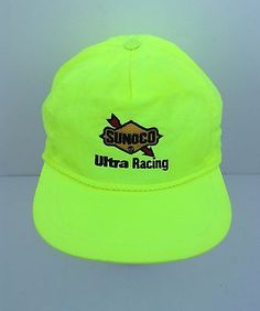 223a8dd051f Vintage 1980s Snapback Hat Sunoco Ultra Racing Terry Labonte Nascar Terry  Labonte
