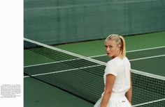 Smile: Maria Sharapova in The Gentlewoman Magazine Spring/Summer 2012 by Zoe Ghertner Maria Sharapova, Sharapova Tennis, Gentlewoman Magazine, Private School Girl, Lovers Pics, Environmental Portraits, And So It Begins, Old Money, Tennis Stars