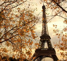 Autumn and Paris.