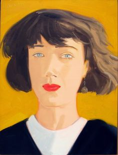 pinkpagodastudio: Alex Katz--Unsparing Eye