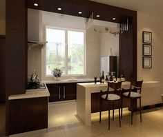 Modern Luxury Kitchens For A Grand Kitchen Kitchen Furniture, Kitchen Decor, Sweet Home, Kitchen Models, Luxury Kitchens, Interior Design Kitchen, Kitchen Designs, House Design, House Styles