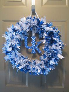 UK Ribbon Rag Wreath