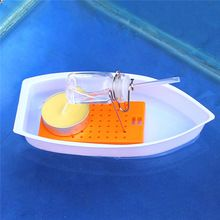 Amazing Heat Steam Candle Powered Speedboat Scientific Experimental Toys For Kid