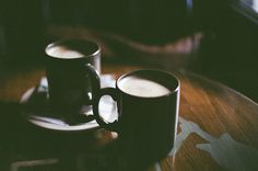 let's have coffee in the morning.