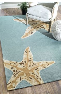 Rugs USA Breeze Indoor Outdoor Starfish Blue Rug. Rugs USA Cyber Monday Sale 75% Off! Area rug, rug, carpet, design, style, home decor, interior design, pattern, home interior, trends, home, statement, fall,design, autumn, cozy, sale, discount, interiors, house, free shipping, great winter, winter, warm, furniture, chair, art, Christmas, Christmas gift, Christmas décor, new year.