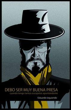 """""""Debo ser muy buena presa (cuando tengo tantas escopetas apuntándome)"""" se basa en la vida de El Cabrero, un cantaor de flamenco singular, un tipo fuera de lo común; encarcelado, perseguido, vilipendiado, pero también admirado y querido, cuyo aspecto recordaba a las películas de Sergio Leone, al spaghetti western y La muerte tenía un precio."""