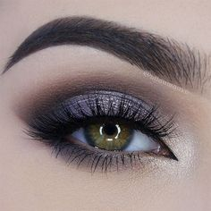 periwinkle smokey eye ~ we ❤ this! moncheribridals.com