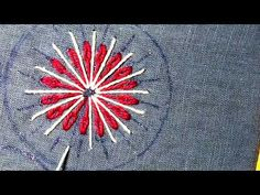 Extraordinary Hand Embroidery flower stitch,Exceptional All over hand Embroidery,हाथ की कढ़ाई 2020 - Free Online Videos Best Movies TV shows - Faceclips Hand Embroidery Flowers, You Are Awesome, Something Beautiful, Textiles, Hands, Make It Yourself, Stitch, Youtube, Patches