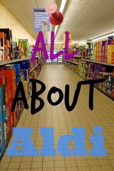 Aldi is simply awesome. We've saved a ton of money in groceries now that we ditched the standard supermarkets in the area and shop for most of our groceries at our local Aldi store. Definitely worth checking out if you have one nearby!