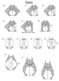 #origami #Totoro #Miyazaki