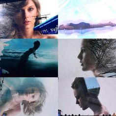 the images that are on the screen behind taylor when she performs clean!